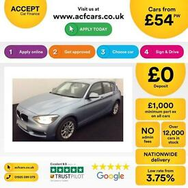 BMW 116 2.0TD ( bhp ) ( s/s ) Sports Hatch 2013MY d SE FROM £54 PER WEEK !