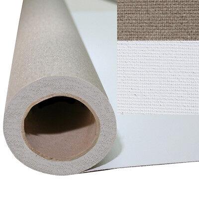 Weiss Grundierte Leinwand 98cm x10m Rolle (7,94€/m²)