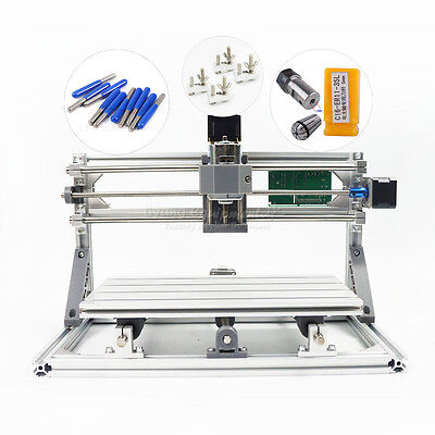 Mini Cnc 3018 Pro Desktop Engraving Machine Diy Pcb Milling Woodworking Router