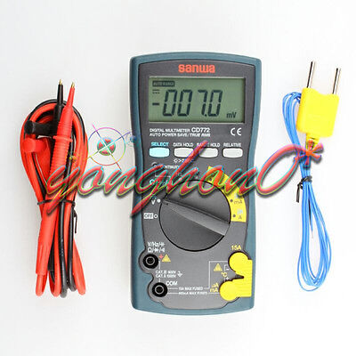 New Sanwa Cd772 Multimetersstandard Type Backlight Temperature Measurement