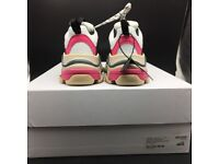 Balenciaga Triple S - Pink, White, Grey - LIMITED SIZE - WITH BOX