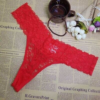 Women Panties lace Cotton Sexy Thong G-string Underwear Briefs Ladies T-back