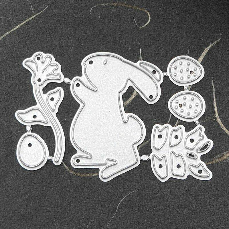 Easter Rabbit Metal Cutting Dies For DIY Scrapbooking Album DIY Paper Cards LY