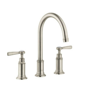 Hansgrohe 16514821 Axor Montreux Lever Widespread Faucet Brushed