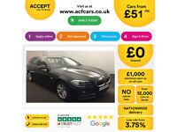 Grey BMW 520 2.0TD Touring Auto 2015 d SE FROM £51 PER WEEK!