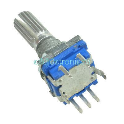 2pcs Rotary Encoder With Switch Ec11 Audio Digital Potentiometer 20mm Handle Ca