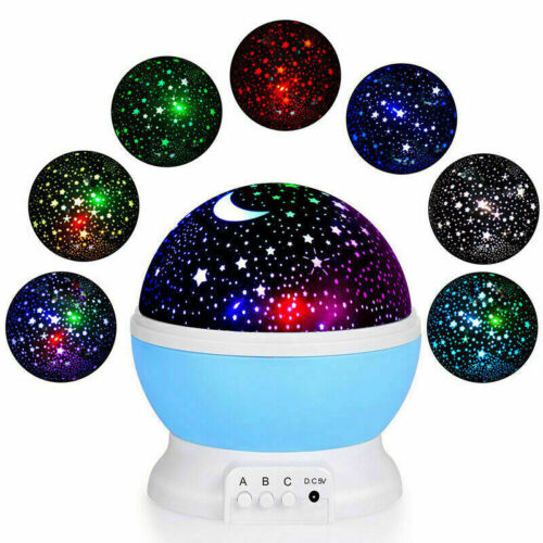 LED USB Star Light Kids Sleep Night Sky Romantic Starry Proj