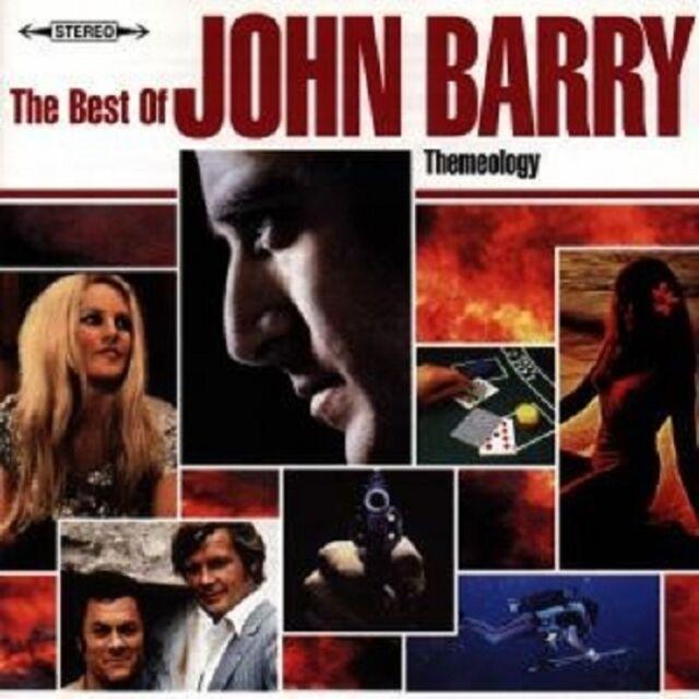 """JOHN BARRY """"THEMEOLOGY-THE BEST OF """" SOUNDTRACK CD NEU"""