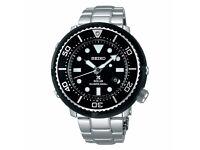 Rare Seiko Prospex Air Diver Marine Watch 200m, Lower case limited edition Screw Crown - SBDN