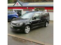 Volkswagen Caddy Maxi 1.6TDI Life Kombi Estate Lwb 7 Seat Crew Cab Van Taxi
