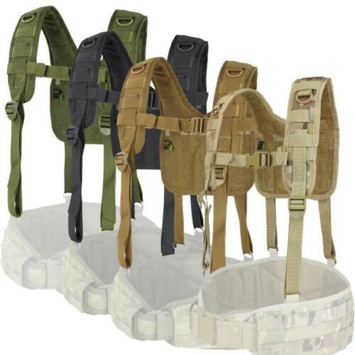 Condor 215 Tactical H-Harness for Battle Belt Riggers Belt and Support Suspender