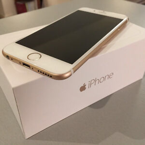 APPLE IPHONE 6 GOLD 64GB (ROGERS/CHAT-R)(BREND NEW CONDITION)