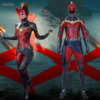 Avengers 4 Endgame Ms Marvel Cosplay Carol Danvers Costume Captain Marvel - Ms Marvel Costume