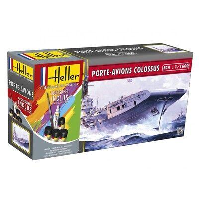 Heller 1/1600 Porte Avions Colosso Set Regalo 49076