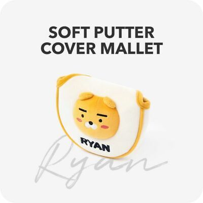 KAKAO FRIENDS Putter Head Cover Mallet Ryan Accessory Korea Authentic