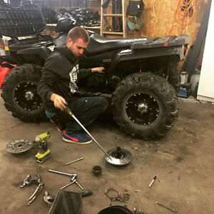 Small Engine Repair Okotoks- ATVs & Golf Carts