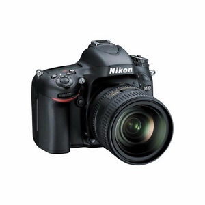 Nikon D610 and 24-85mm kit lens, and accessories