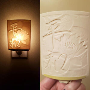 Porcelain Nightlight- handmade