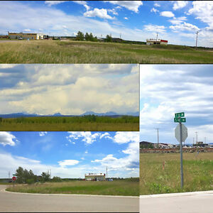 Light Industrial Commercial Lot in Sundre!