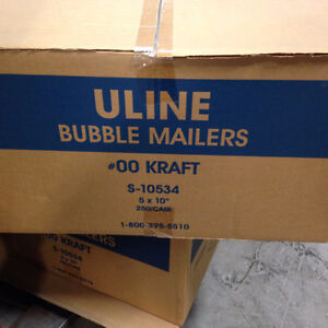 "Self-Seal Bubble Mailers #00 - 5 x 10"" London Ontario image 2"