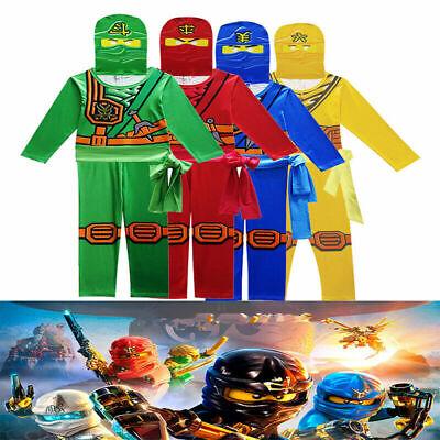 Kinder Ninjago Party Kostüm Stealth Ninja Superheld Cosplay - Ninja Superheld