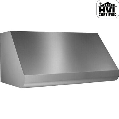 """Broan E60E48 600 - 1500 CFM 48""""W Stainless Steel Wall Mounted - Stainless Steel"""