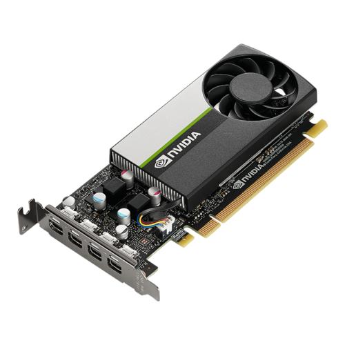 PNY NVIDIA T1000 4GDDR6 PCIe 3.0 Workstation Grafikkarte , 4x mDP, SmallBox