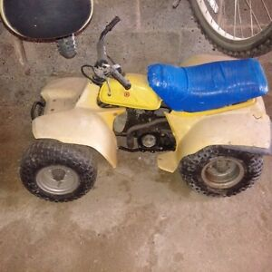 1984 Suzuki 50cc ATV For parts or to restore
