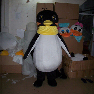 NEW Cute Baby Penguin Mascot Costume The Antarctic Animal Cosply Suit Cosplay - The Penguin Costume