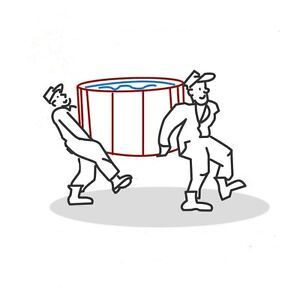 HOT TUB MOVER / REMOVAL