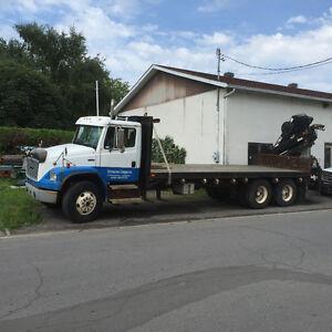 Camion grue, boomtruck