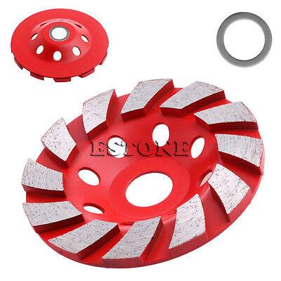 4 100mm Diamond Grinding Wheel Concrete Cup Disc Concrete Masonry Stone Tool H