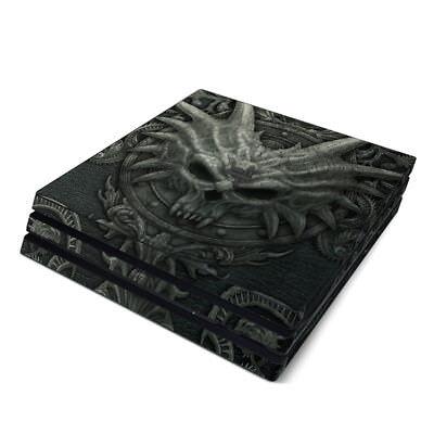 Sony PS4 Pro Console Skin Kit - Black Book by Kerem Beyit - Sticker Decal