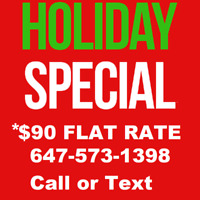 $90 Flatrate Movers - Cheap Moves - HOLIDAY SPECIAL