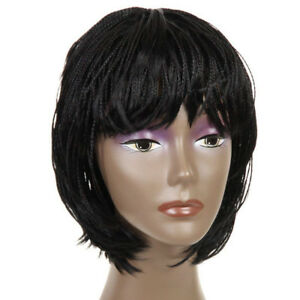 Synthetic Small Box Braid Wigs African American Bob Braided Wigs