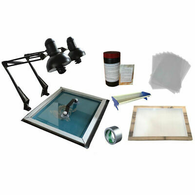 Intbuying Simple Screen Plate Making Kit For Screen Printing Diy For Plate Maker
