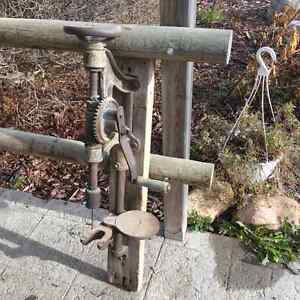 Old antique Drill Press for sale