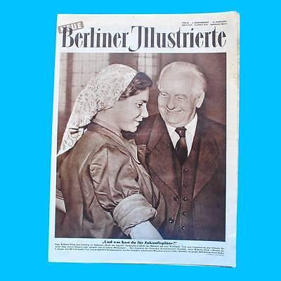 NBI 53/1955 DDR - Wilhelm Pieck Barbara Butz Michael Bosse Cortina d'Ampezzo
