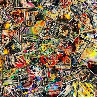 100 Pokemon Karten *SELTENE GX/EX KARTE GARANTIERT* BOOSTERFRISCH