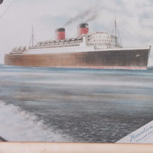 RMS Mauritania II 1938 Cunard White-star West Island Greater Montréal image 6