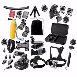 25-in-1 Accessories kit with carrying case for Gopro Hero 4 etc.