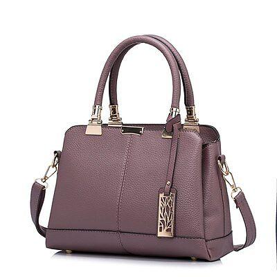 Women PU Leather Handbag Hobo Tote Messenger Shoulder Bag Purse Ladies Crossbody