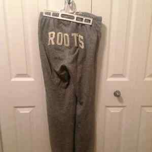 Roots Salt and Pepper Track Pants XS