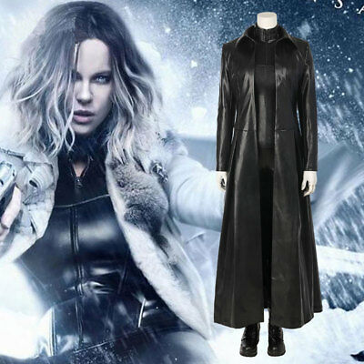 Underworld: Blood Wars Vampire Warrior Selene Cosplay Costume Outfit Custom Made