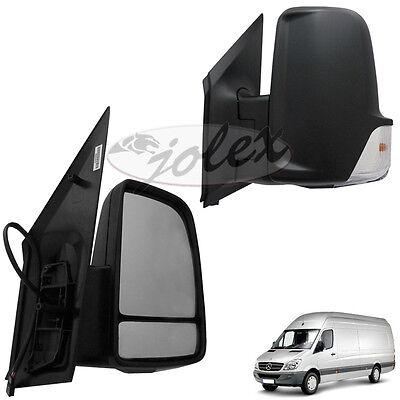Außenspiegel Spiegel Blinker rechts+links Set Satz Paar Mercedes Sprinter W906