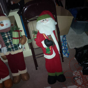 """BRAND NEW Christmas Characters 36"""" High. CUTE!"""