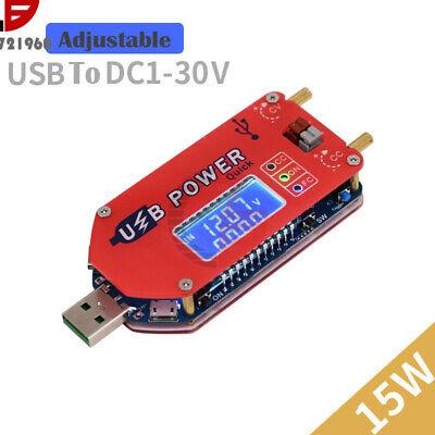 Usb Dc 5v To 3.3-24v 15w Adjustable Step Updown Boost Buck Power Supply Module