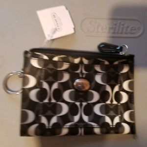 NEW with tag Coach key chain wallet