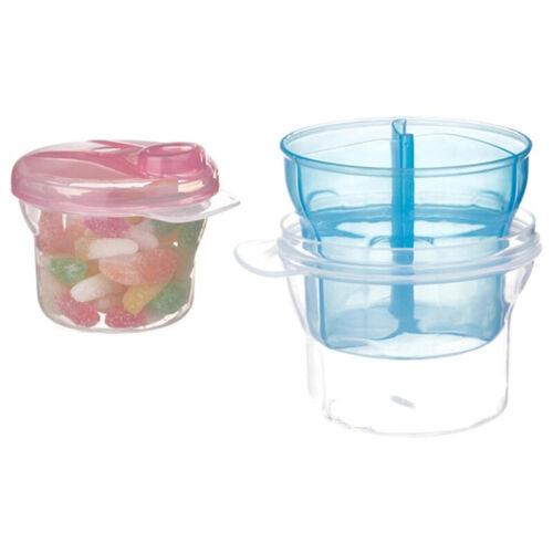 3 Layers Baby Milk Powder Dispenser Food Furit Container Storage Feeding Box BS