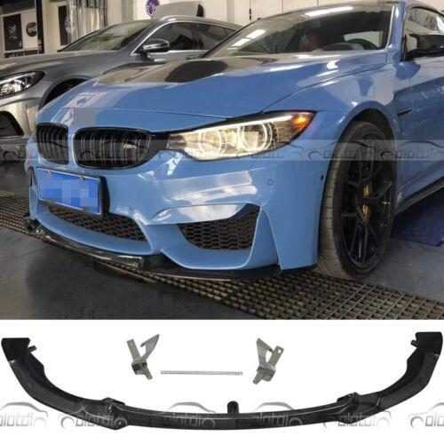 For BMW F80 M3 F82 F83 M4 Sedan 2014-2020 Front Bumper Lip